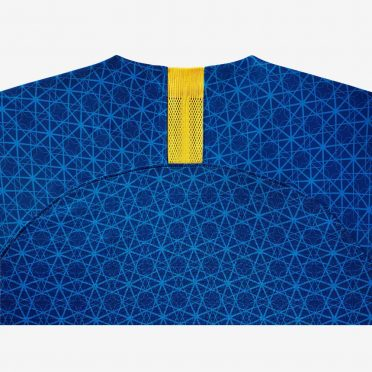 Retro maglia Brasile away blu 2019
