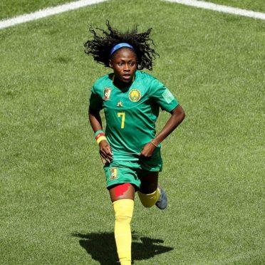 Prima maglia Camerun Mondiale femminile 2019