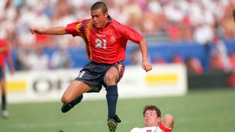 Maglia Spagna 1994 Mondiali - Luis Enrique