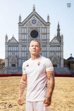 Maglia Fiorentina bianca 2019-2020