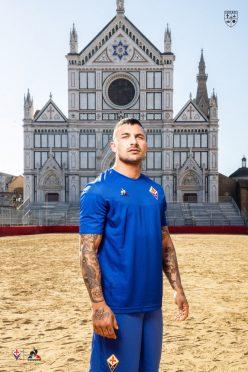 Maglia Fiorentina blu 2019-2020