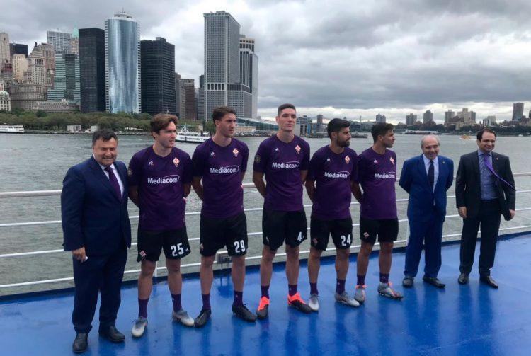 La Fiorentina a New York