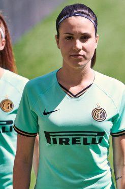 Seconda maglia Inter femminile 2019-20