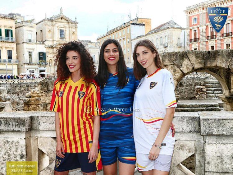 Maglia Lecce away bianca 2019-2020