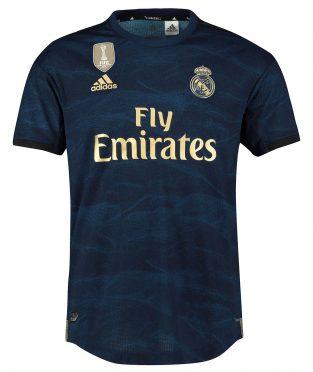 Seconda maglia Real Madrid 2019-2020 blu