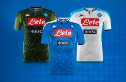 Le maglie del Napoli 2019-2020