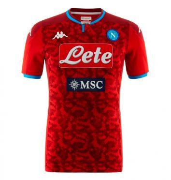 Maglia portiere Napoli rosso 2019-2020