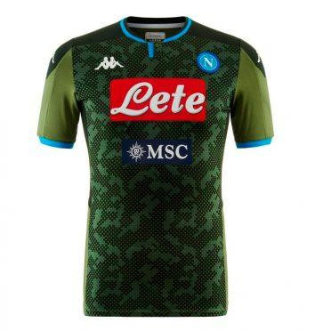 Seconda maglia Napoli 2019-2020 verde