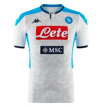 Terza maglia Napoli 2019-2020 bianca