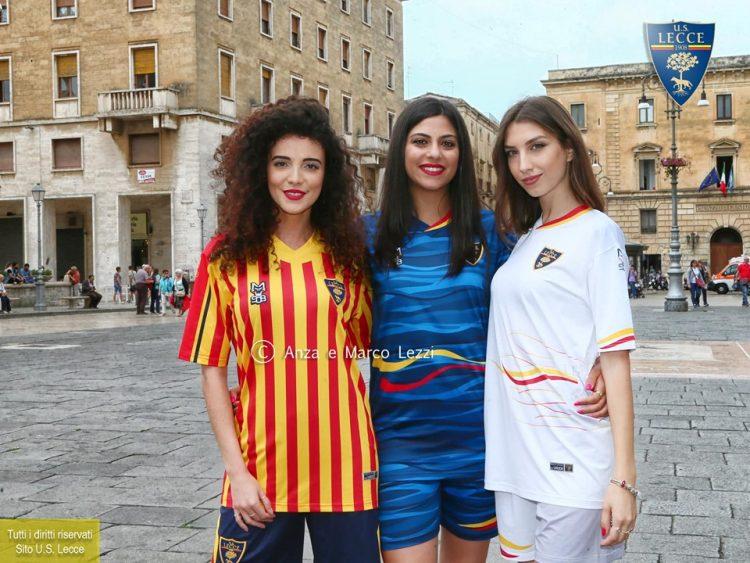 Le nuove maglie del Lecce 2019-2020