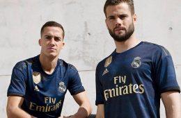 Nuova maglia away del Real Madrid