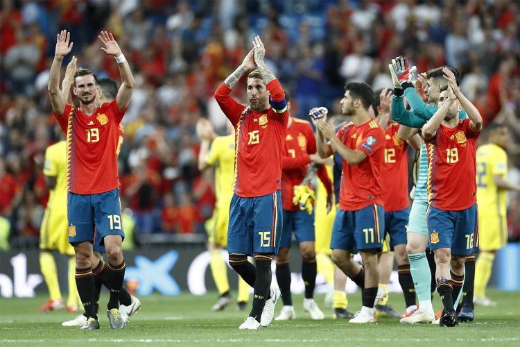 Divisa Spagna maschile 2018-2019