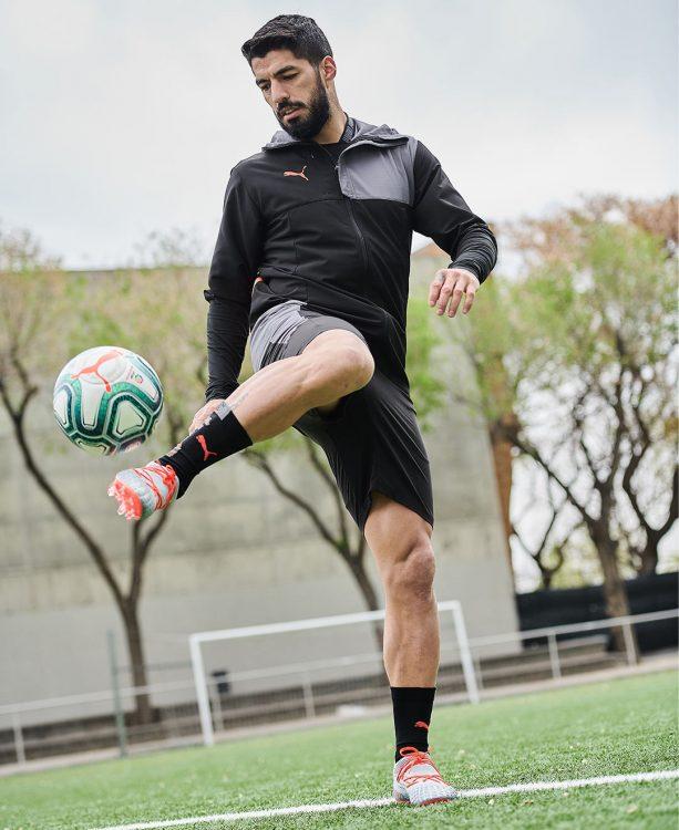 Suarez con il pallone della Liga 2019-20