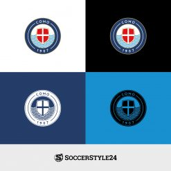 BackToSerieA Logo Como Paletta Colori