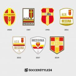 BackToSerieA Logo Messina Storia