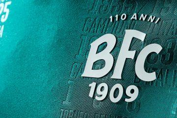 Maglia Bologna verde 110 anni