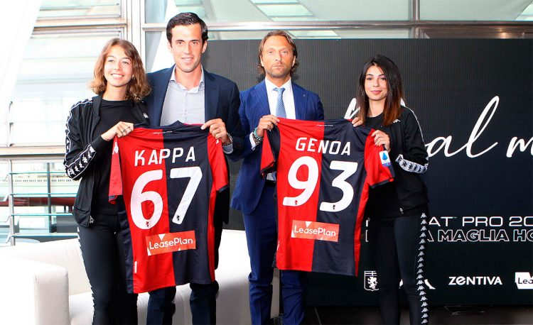 Il font del Genoa sulle divise 2019-2020