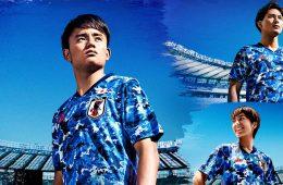 La nuova maglia del Giappone 2020 adidas