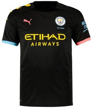 Seconda maglia Manchester City 2019-20 nera