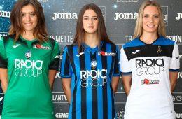 Le nuove maglie dell'Atalanta 2019-2020