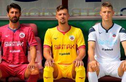 Le maglie del Cittadella 2019-2020 Serie B