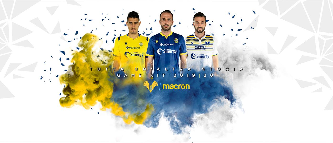 Maglie Hellas Verona 2019-2020 Serie A