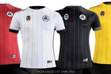 Maglie Spezia Calcio 2019-2020 Serie B