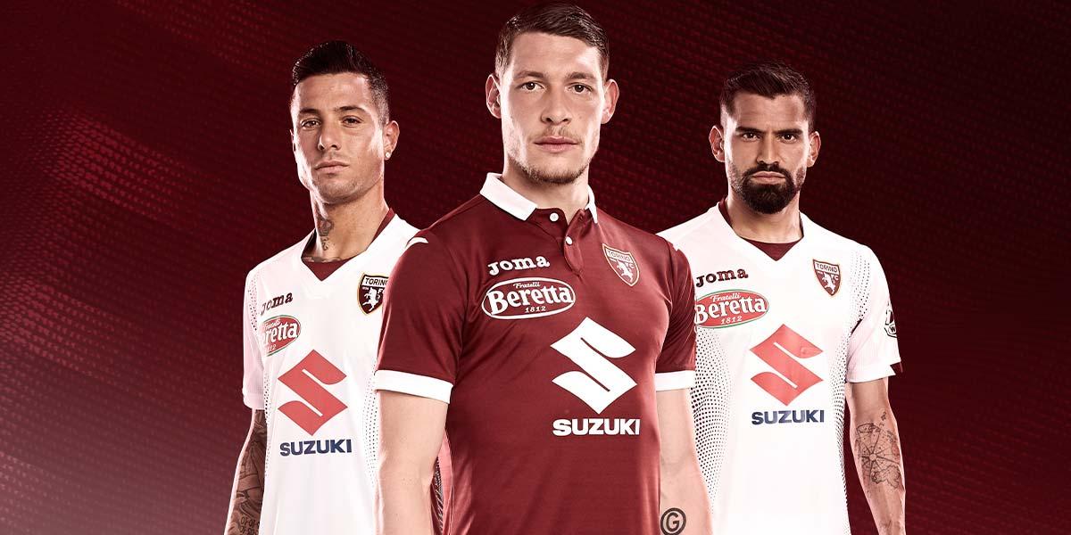 Le maglie del Torino 2019-2020 Joma
