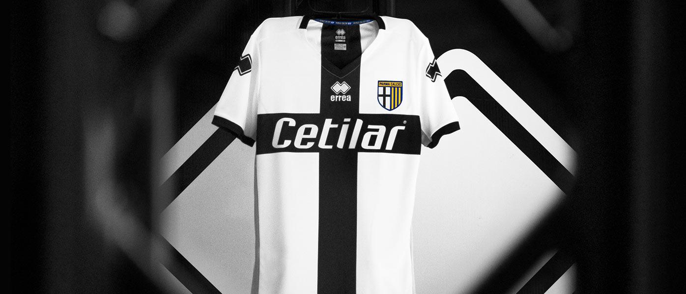 La nuova maglia del Parma 2019-20