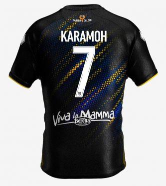 Retro terza maglia Parma nera - Karamoh 7