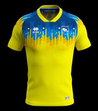 Seconda maglia Pescara 2019-2020 gialla