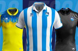 Maglie Pescara Calcio 2019-2020 Erreà