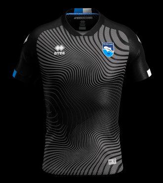 Terza maglia Pescara 2019-2020 nera