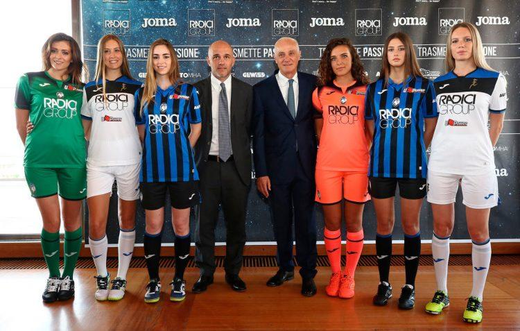 Presentazione maglie Atalanta 2019-20 Champions League