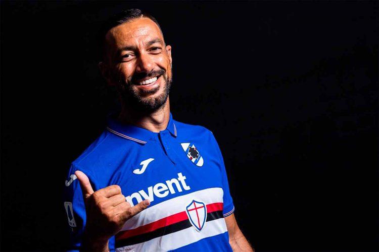Quagliarella, divisa Sampdoria Serie A