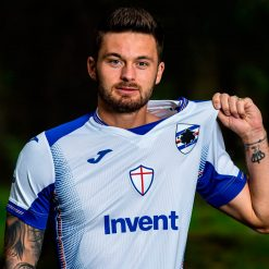 Linetty, maglia Sampdoria trasferta