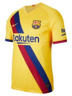 Seconda maglia Barcellona 2019-2020 gialla