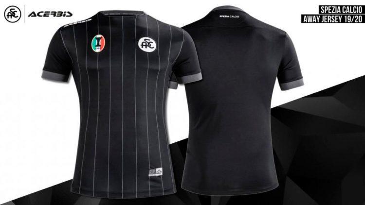 Seconda maglia Spezia 2019-2020 nera