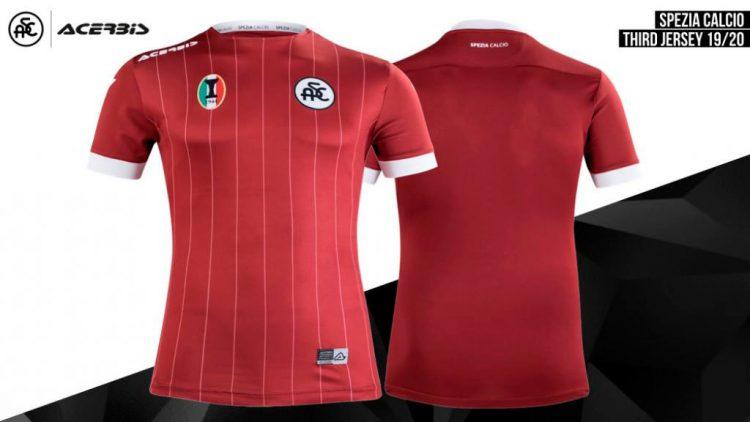 Terza maglia Spezia 2019-2020