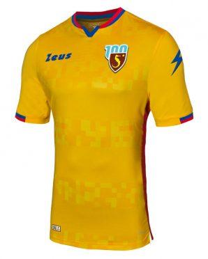 Terza maglia Salernitana gialla 2019-20
