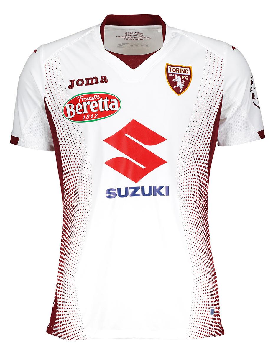 Maglie Torino 2019-2020, debutta Joma con il colletto bianco