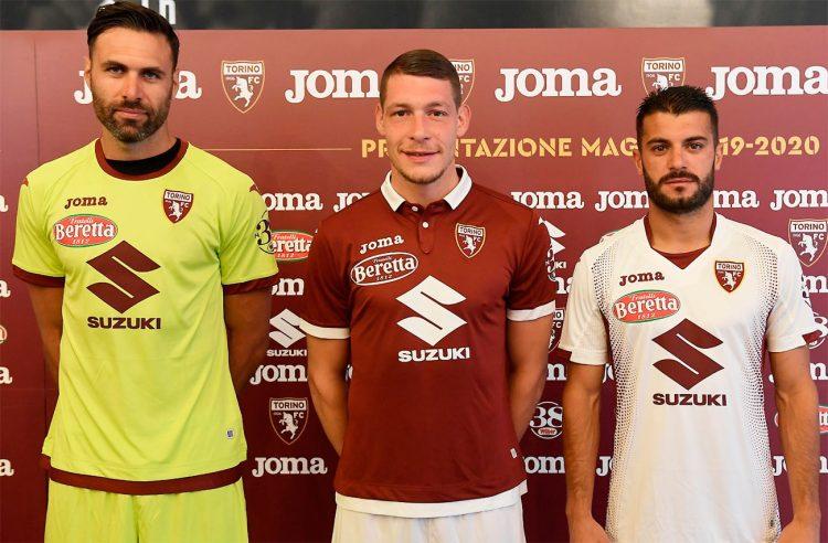 Presentazione maglie Torino firmate Joma