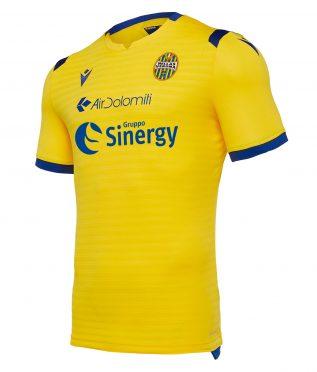 Seconda maglia Verona 2019-20 gialla