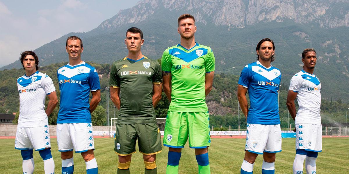 Le maglie del Brescia 2019-2020
