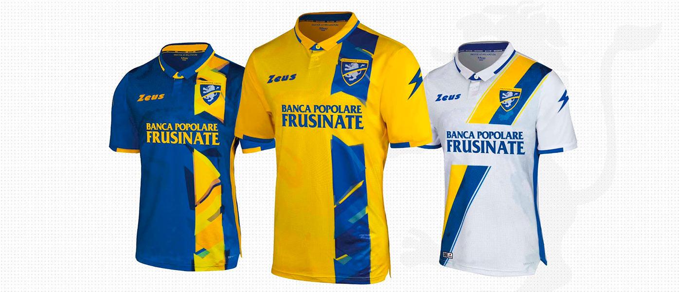 Le maglie del Frosinone 2019-2020
