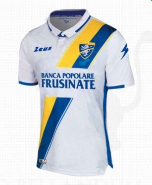 Terza maglia Frosinone bianca 2019-2020