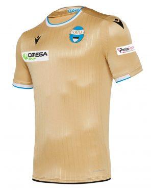 Seconda maglia Spal 2019-2020 dorata
