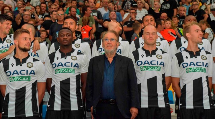 Presentazione Udinese 2019-2020 in Curva Nord