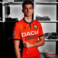 Kit away Udinese arancione