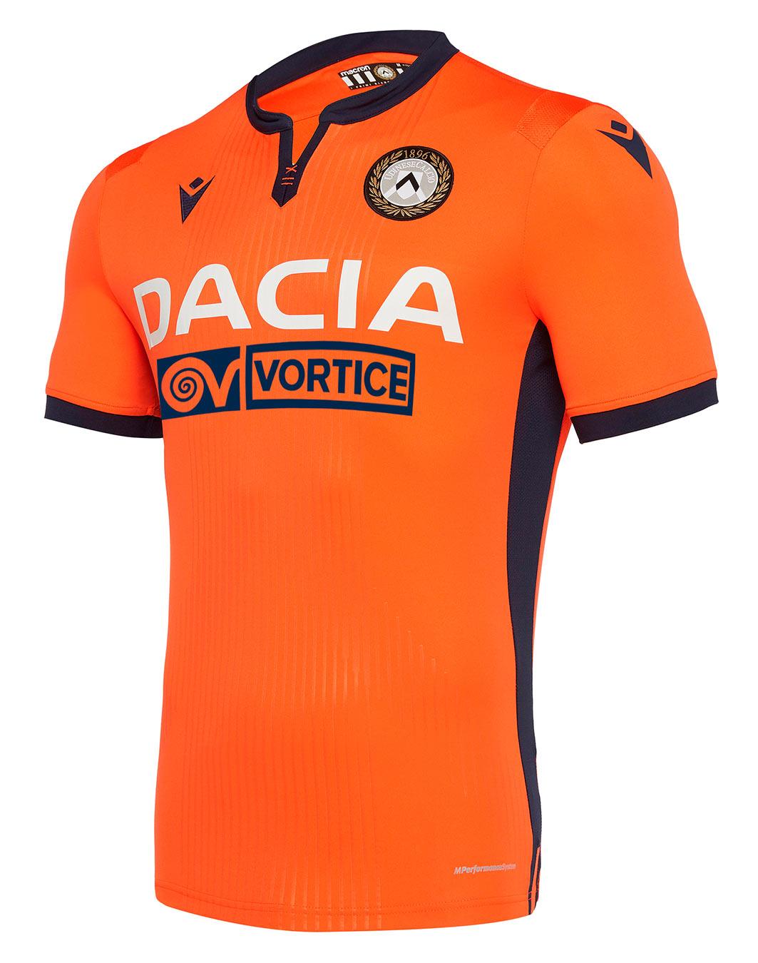 Maglie Udinese 2019-2020 Macron, ispirazione alla divisa di Zico